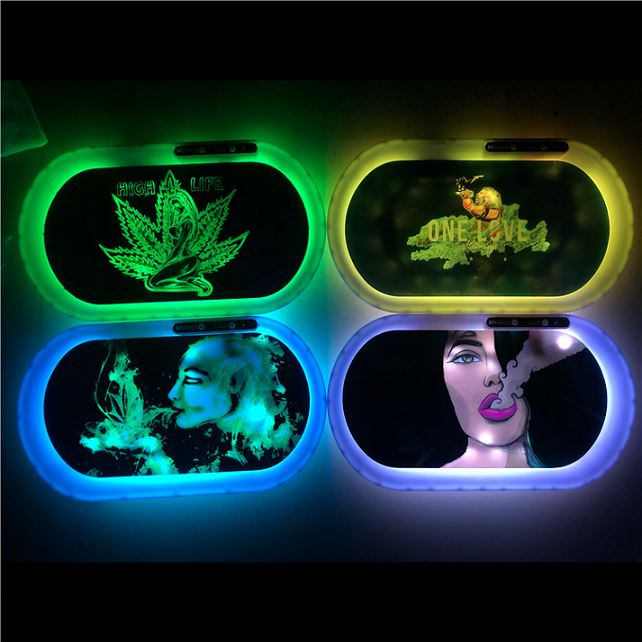 Customizable Glow Trays JL-026Z